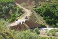 بازگشایی محورهای روستایی مسدود شده در شرق استان هرمزگان