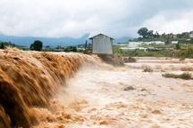 خسارت شدید سیلاب در شهرستان مشگینشهر