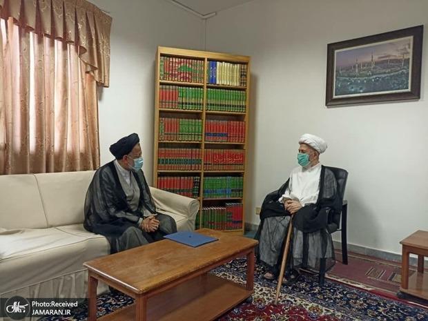 وزیر اطلاعات با مراجع عظام تقلید دیدار کرد/ تقدیم پیام تشکر رییس جمهور