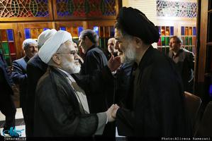 مراسم ختم مادر حجت الاسلام و المسلمین محتشمی پور در مسجد نور-2