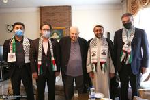 دیدار سرپرست موسسه تنظیم و نشر آثار امام خمینی(س) با سفیر فلسطین در تهران