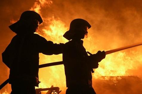 آتش سوزی در ایستگاه مترو در شهر جده/ ویدیو
