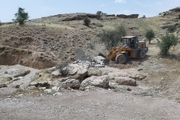 ۱۱ هزار و ۱۵۰ متر مربع از اراضی ملی چرداول رفع تصرف شد
