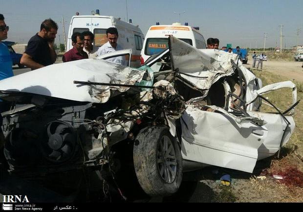امسال کشته های حوادث جاده ای کرمانشاه 2.5 درصد کاهش یافت