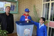 انتخابات شوراهای دانش آموزی تمرینی برای تقویت مردم سالاری است