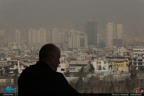 آلودهترین مناطق تهران/ نقشه