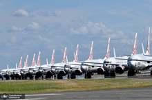کرونا و زمینگیر شدن هواپیماها