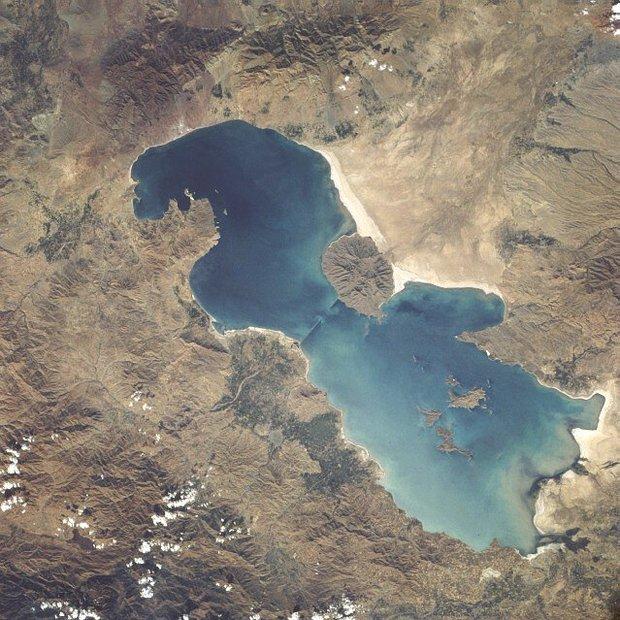 کاهش 40 درصدی حجم آب دریاچه ارومیه