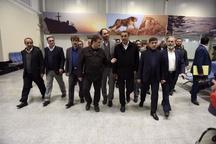 بازدید جمعی از مسئولان کشوری با همراهی استاندار البرز از فرودگاه پیام