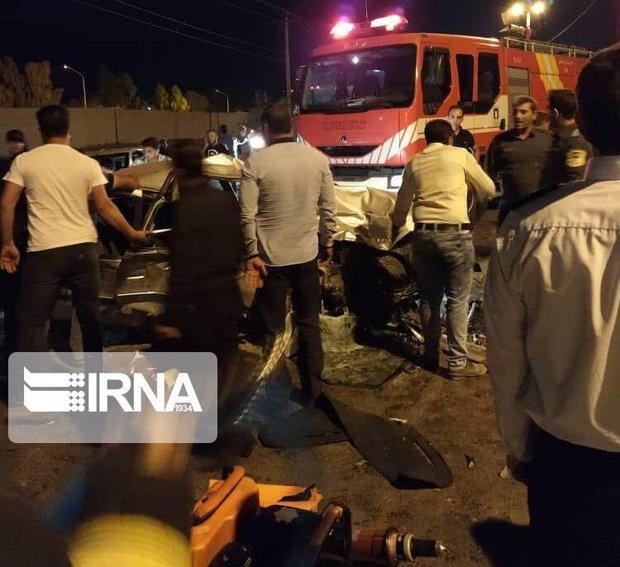حادثه رانندگی در جهرم ۴ کشته داشت