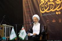 آیت الله مکارم شیرازی: محرم فرصت خوبی برای آشتی گروههای مختلف جامعه است