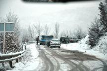 برف پاییزی شمال و شرق لرستان را در بر می گیرد
