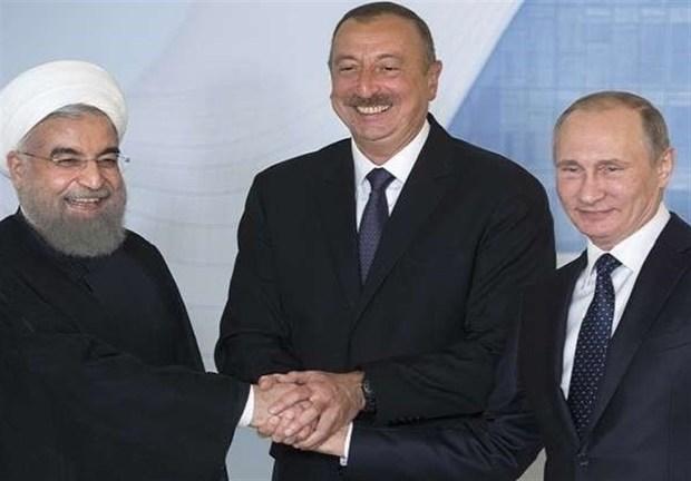 برنامه جمهوری آذربایجان، روسیه و ایران برای راه اندازی کریدور انرژی