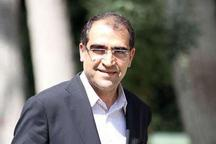 وزیر بهداشت، درمان و آموزش پزشکی وارد استان ایلام شد