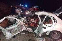 تصادف در جاده کندوان سه کشته و هفت مصدوم داشت