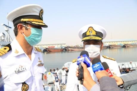 هدف ناوگروه دریایی پاکستان از آمدن به ایران