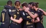 پیروزی و صعود بارسلونا به رتبه سوم در غیاب مسی