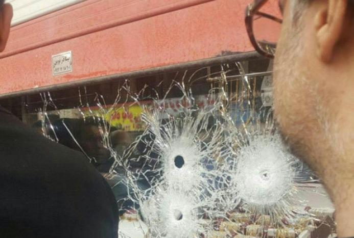 ویدئو/ سرقت مسلحانه از طلافروشی در اسلام شهر