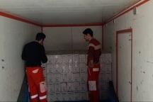 کمک های هلال احمر اردبیل عازم مناطق سیل زده استان گلستان شد