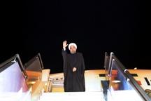رییس جمهوری آذربایجان غربی را به مقصد تهران ترک کرد