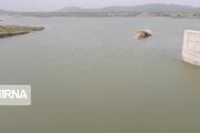 حجم آب سد سنگرد سبزوار چهار میلیون متر مکعب بیشتر شد