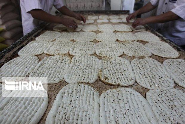 حال ناخوش پخت نان در شهرهای مازندران