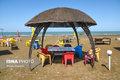 تصاویر/ وضعیت سواحل تفریحی مازندران در دوران کرونا