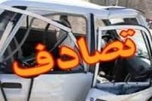 8 کشته و زخمی در پی تصادف در محور فراشبند - کازرون