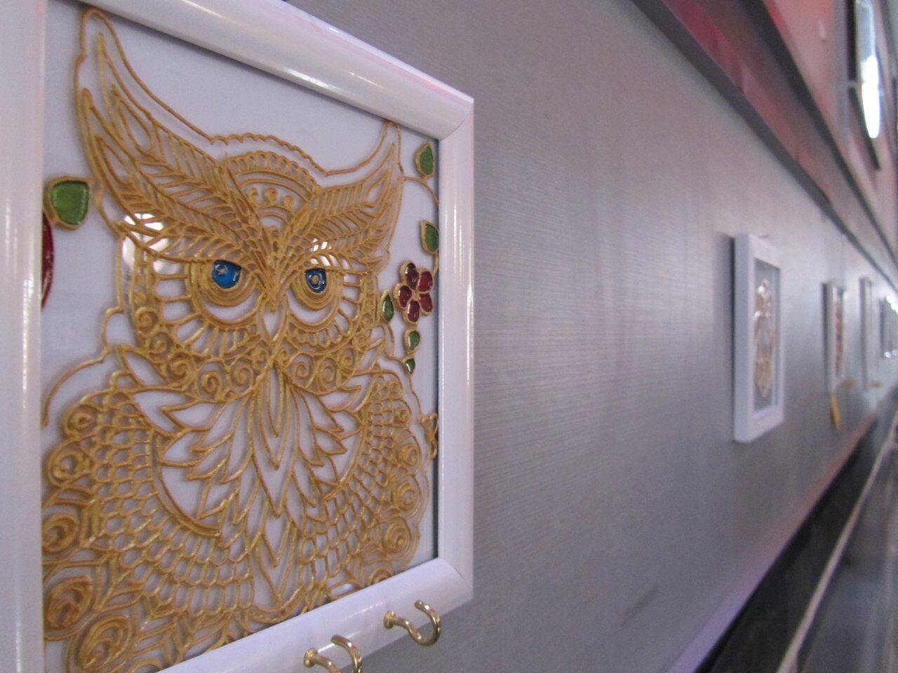 نمایشگاه ویترای برای نخستین بار در کنگاور گشایش یافت