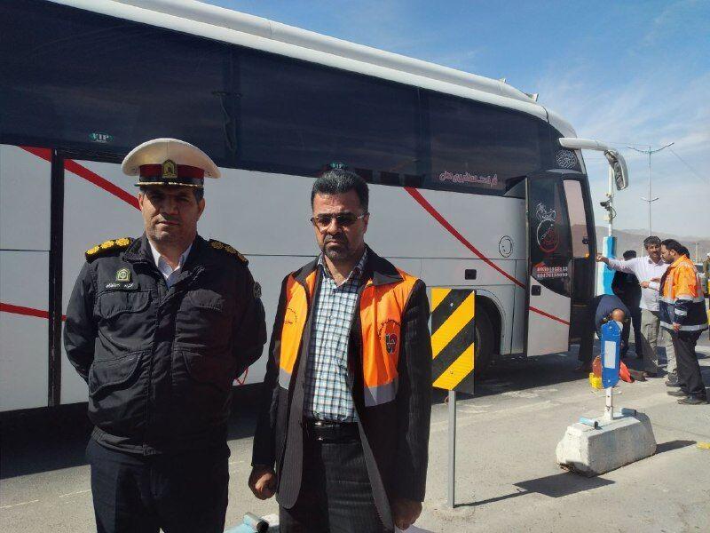 نظارت بر ناوگان اتوبوسهای بین شهری در سیستان و بلوچستان تشدید شد