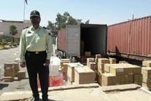 2 محموله کالای قاچاق در آزاد راه پل زال کشف شد