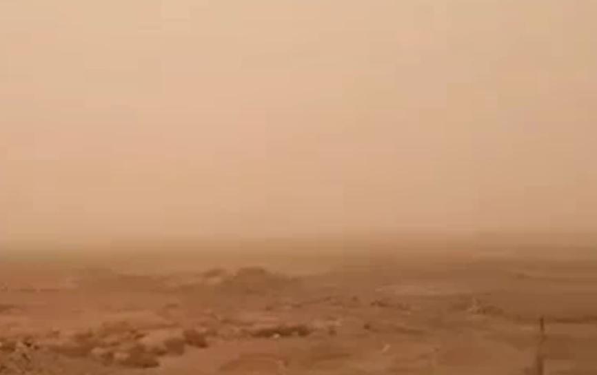 گرد و غبار دید افقی در قصرشیرین را کاهش داد