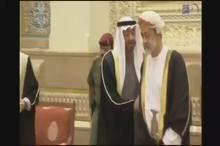 تصویری پرحاشیه از دیدار دیشب محمد بن زاید ولیعهد ابوظبی و هیثم بن طارق آل سعید پادشاه جدید عمان