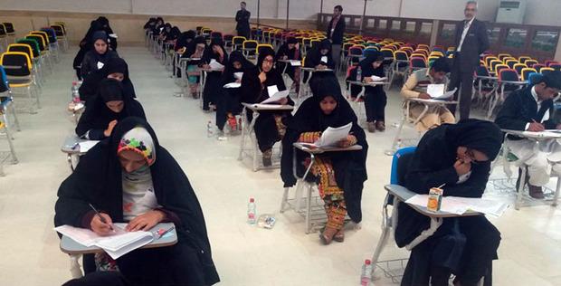 آزمون پذیرش بهورز در دانشگاه علوم پزشکی زاهدان برگزار شد