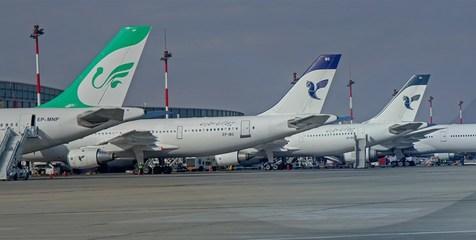 پرتاخیرترین و کمتاخیرترین شرکتهای هواپیمایی داخلی
