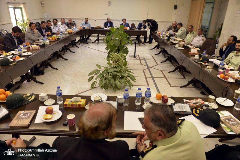 دومین جلسه کمیته نیروهای مسلح ستاد مرکزی بزرگداشت امام خمینی(س)
