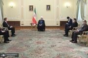 5 سفیر به دیدار رییس جمهور روحانی رفتند