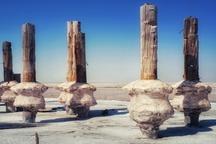 تصاویر   وضعیت بحرانی دریاچه ارومیه