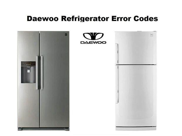ارورهای یخچال دوو و نحوه رفع این کدهای خطا