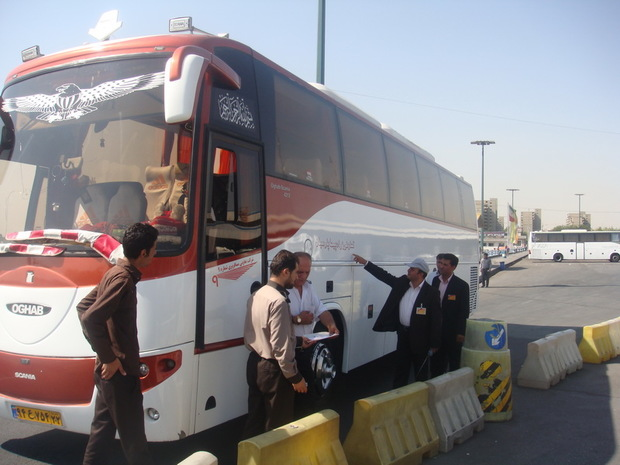 جابجایی مسافران جاده ای از زنجان بدون وقفه در حال انجام است