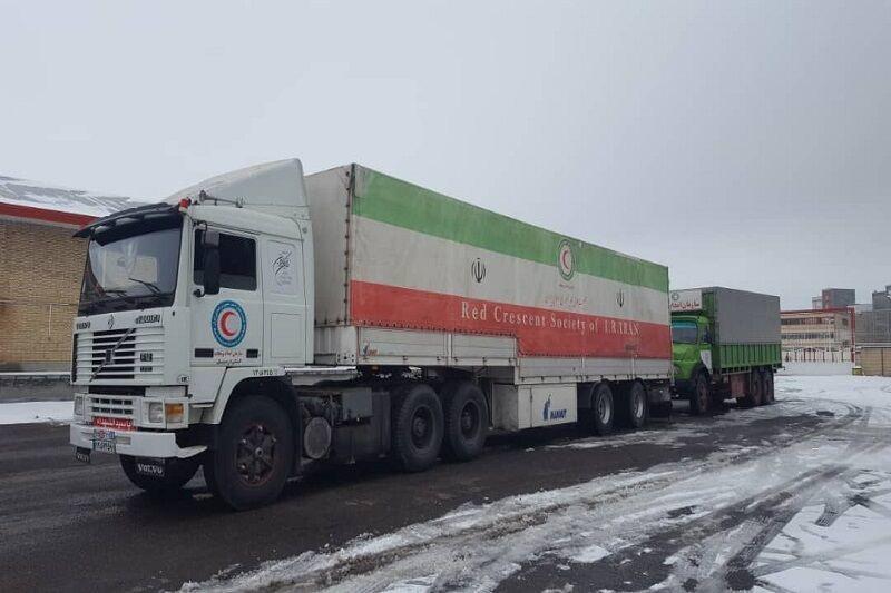 سومین کامیون حامل کمک اردبیلیها راهی مناطق سیلزده شد