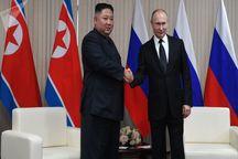 نخستین دیدار رهبر کره شمالی با پوتین در روسیه+تصاویر