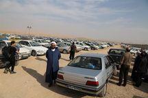 کرایه پارک خودرو در مرز مهران ۵۰۰ هزار ریال است