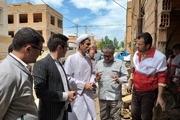 کمک یک میلیارد ریالی کارکنان دادگستری استان به سیل زدگان آشخانه