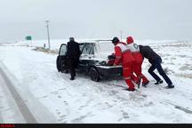 امدادرسانی به 2000 نفر گرفتار در برف و کولاک طی 5 روز گذشته در آذربایجان غربی