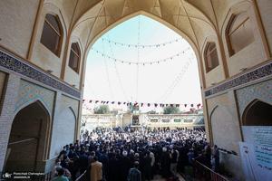 مراسم تشییع و خاکسپاری آیت الله العظمی صانعی(ره) در قم