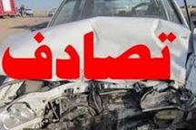 تصادف 2 دستگاه خودرو سواری در جاده شوط - ماکو 11 مصدوم برجا گذاشت