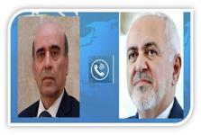 گفتوگوی تلفنی ظریف با همتای لبنانی: تهران آمادهی کمک به لبنان است