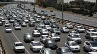 ترافیک سنگین در آزادراه قزوین-رشت  تردد در جاده بابل رکورد زد