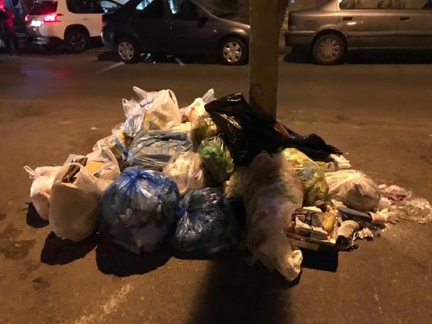 اختلاف نظر مسئولان عامل رها شدن زباله ها در تهران! + عکس